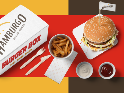 Hamburgo • Grilled Burger - Branding 07 logo design identity design burgers inspirations branding brand identity logotype logodesign brand design brand