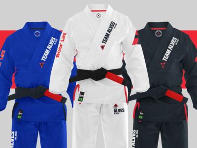 Team Alves - Brazilian Jiu Jitsu - Branding 01