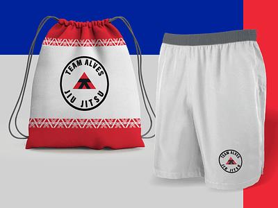 Team Alves - Brazilian Jiu Jitsu - Branding 05 logo design fighters fighter fight club inspirations logodesign identity design branding brand identity logotype brand design brand
