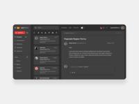 Yandex Mail dark theme