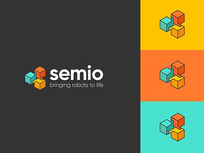 Semio - Branding artificialintelligence logos logotype design branding kluge