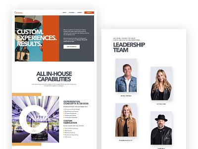 Toluna - website layouts ui ux design webdesign kluge