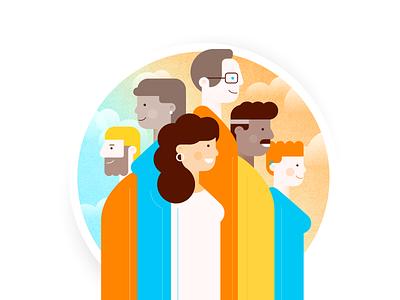 Illustrated cover - SAPC design app design app development webdesign print branding coverart illustration kluge