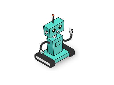 Semio - Robot illustrations design ui illustration branding animation vector ai artificialintelligence kluge