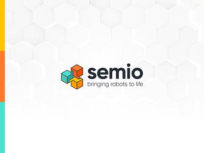 Semio - Branding logo webdesign logodesign logotype artificialintelligence ai branding kluge