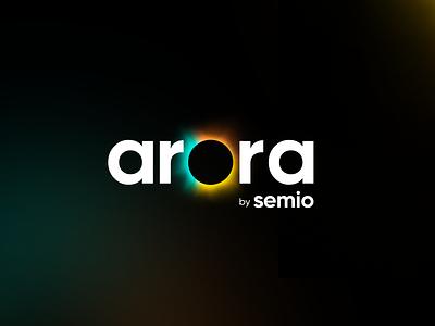 ARORA - Product Branding logodesign logotype designarquitecture ai artificialintelligence branding kluge