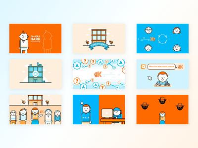 Kaleo - Video Explainers webdesign explainer aftereffects motiongraphic branding kluge