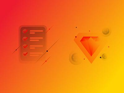Factual - Key Visuals branding data location gps keyvisual digitalart illustration design kluge
