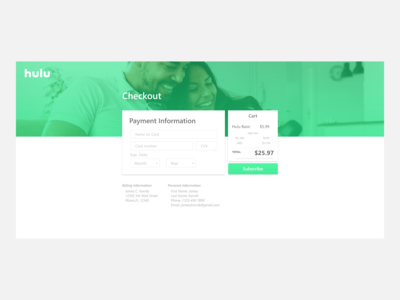 Daily UI - 002 : Checkout