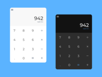 Daily UI - 004 : Calculator