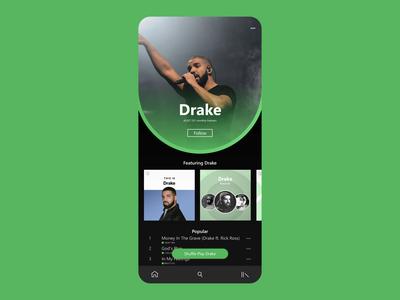 Daily UI - 006 : Profile Page