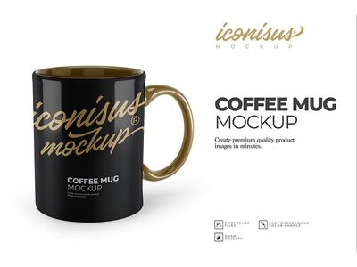 Coffee Mug Mockup Template