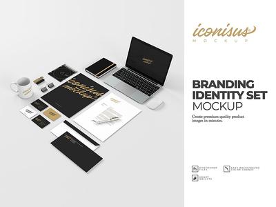 Branding identity Set Mockup