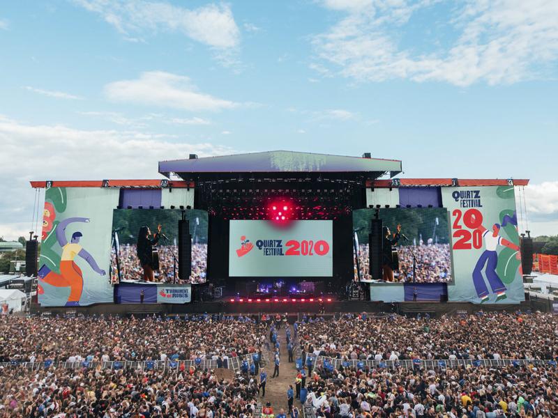 Quartz Festival Stage