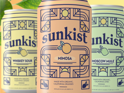 Sunkist Cocktail Packaging