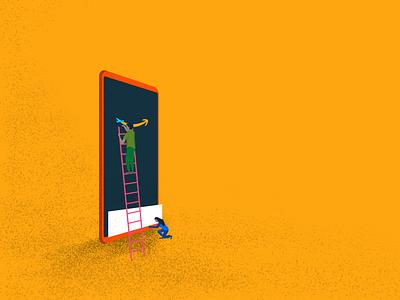 Reimagining Amazon illustration