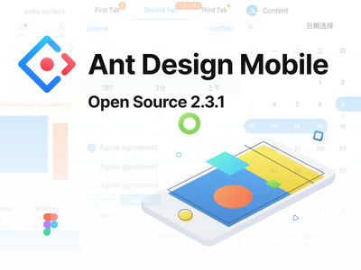 Ant Design Mobile Open Source source system ui kit library figma component community mobile ant design ant