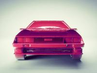 Pink DeLorean