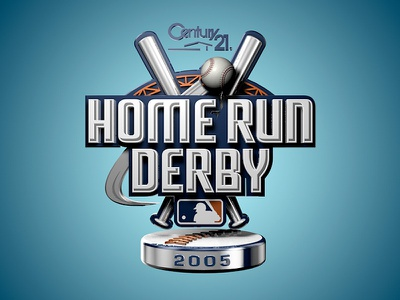 Home Run Derby Logo Animation logo animation homerun baseball 3d cinema4d