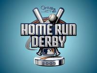 Home Run Derby Logo Animation