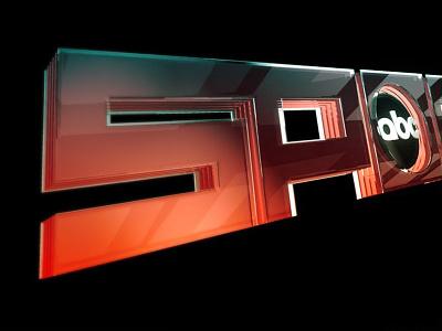ABC Sports 3D Looktest 3d logo abc abc sports