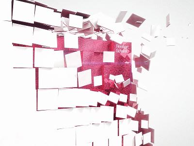 Keyvisual Rembart Scherer 3d keyvisual cube maya