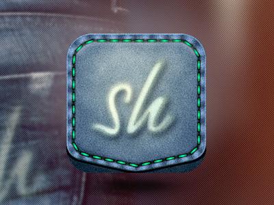 Shpock - App Icon (v1) app icon jeans pocket