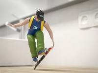 3D Toy Skateboarder (Rondey Mullen Tricks)