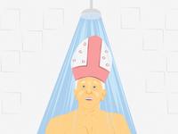 """""""Pope OKs showers for homeless in Rome"""""""