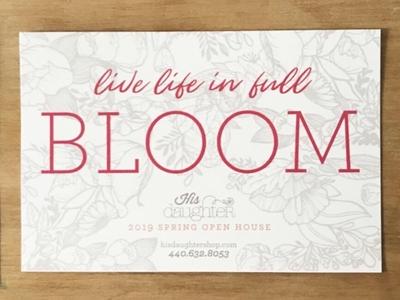 Bloom Invitation