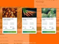 desain UI card | agricultural technology