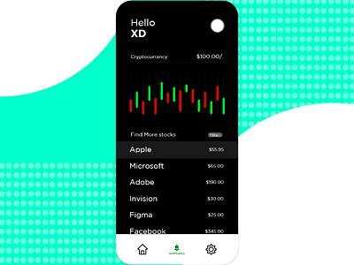 Stock price application design