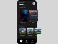 Dark gallery application