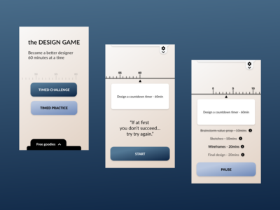 Daily UI Design Challenge Day 14 - Countdown Timer design web ui