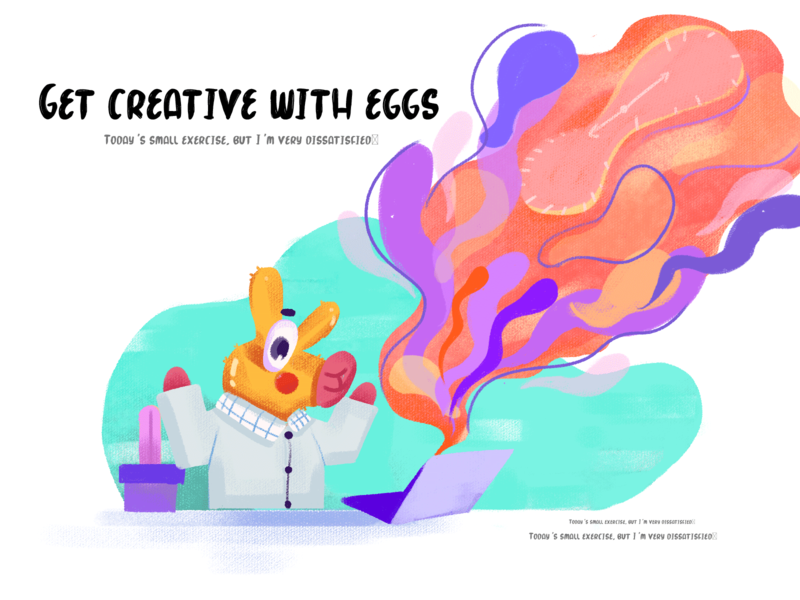Get creative with eggs