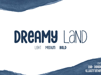 Dreamy Land Font