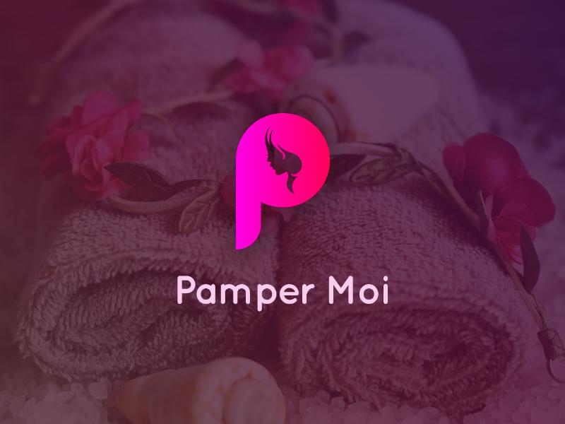 Pamper Moi Logo Design