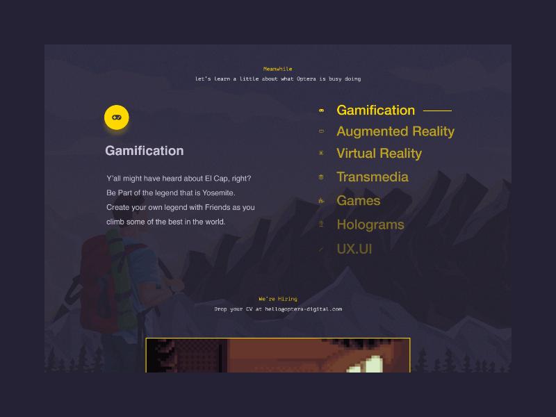 Custom Slider UI dark gaming landing page gamification custom slider slider ui design
