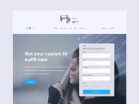 Custom Fit Landing Page