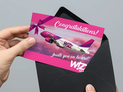 Giftcard for Wizzair Team Gift