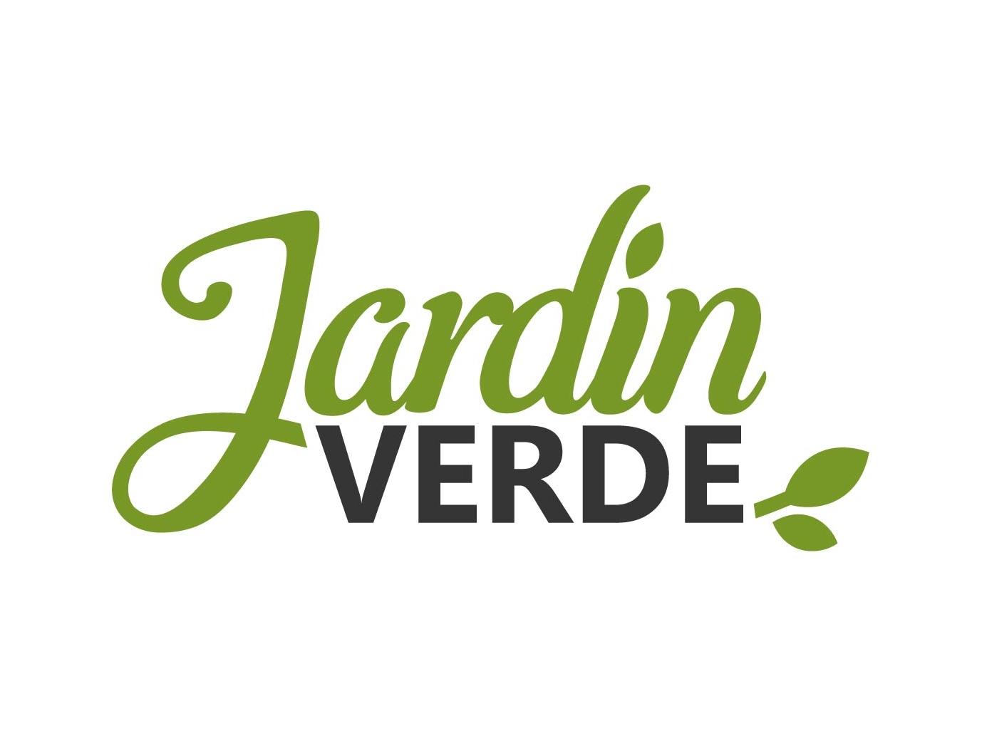 Logotype for Jardin Verde - spanish ecommerce branding vector graphicdesign graphic logo design logodesign furniture design green garden ecommerce logotype logo