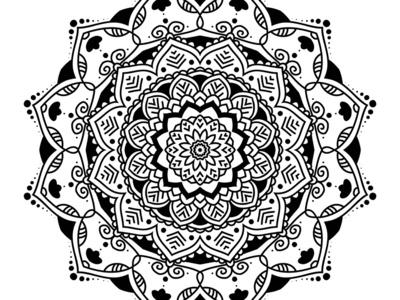 Mandalas design - many different