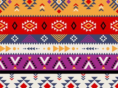 Beautiful aztec pattern