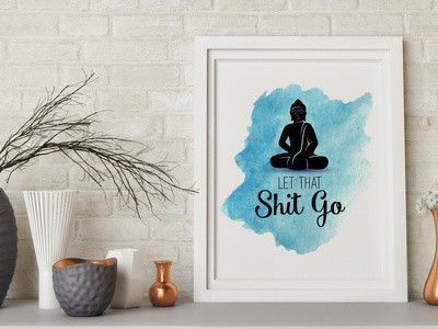 Wall art with Buddha for Home Decoration