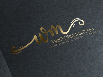 Gold Stamping Logo I have made for my portfolio