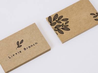Little Branch Logo and Business Card