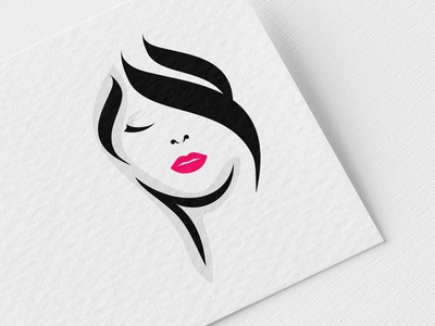 Beauty Logo Illustration logo design logodesign logos female logo female stylist hairstyle hair salon hair beauty salon beauty beauty logo branding logotype decor logo graphicdesign design vector graphic