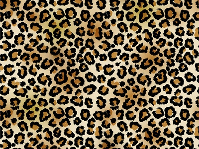 Leopard Print Seamless pattern