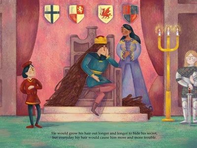 The King's Secret - throne room