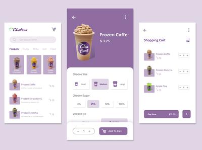Drink Order App Chatime